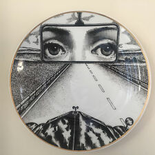 Porcelain Plate No 4 by Atelier Fornasetti