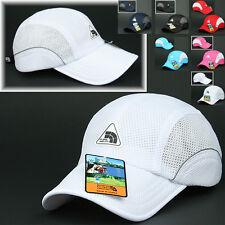 Mesh Cap KILIMANJARO WHITE Hat Running Hiking Jogging Outdoor Sports Baseball