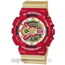 *NEW* CASIO G-SHOCK MENS HYPER COMPLEX IRON MAN WATCH - GA-110CS-4A - RRP £185