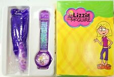 disney lizzie mcguire wrist watch and key chain set brand new in box