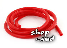 DURITE ESSENCE ROUGE Diam. 6mm X 11mm Long 100cm MOTO HONDA DUCATI BMW YAMAHA...