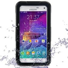 Samsung Galaxy Note 4 SM-N910 Outdoor Case wasserdicht schwarz