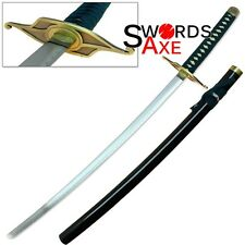 Ulquiorra Sword Bleach Anime Katana Hollow Schiffer Murcielago Steel Replica