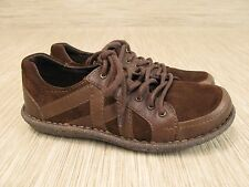 Born Brown Suede Leather Shoes Women's Size US 8 EUR 39 Lace Up Oxfords Casual