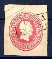 GERMAN STATES - GERMANIA ANTICHI STATI - PRUSSIA - 1853 - Intero postale. E980