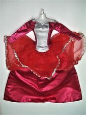 Vtg Barbie 90s TAGGED Doll Clothes EVIL QUEEN Scarlet GOWN B Label