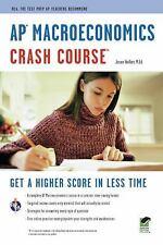 AP Macroeconomics Crash Course Book + Online Advanced Placement AP) Crash Cour
