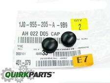 VW Volkswagen Front Wiper Arm End Cap Replacement Set Of 2 GENUINE OEM BRAND NEW