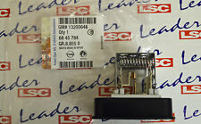 GENUINE Vauxhall ASTRA / ZAFIRA - HEATER BLOWER FAN RESISTOR - GM PART - NEW