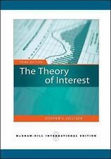 Theory of Interest by Kellison (Paperback)