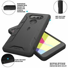 POETIC Revolution Dust Resistant Hybrid Case Cover Protector for LG V20 Black