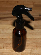 Brand New 2 Oz Amber Empty Essential Oils Glass Bottle Vial w Trigger Spray Top