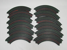 "AURORA TOMY AFX 9"" 1/4 CURVES ~ 12 PC ~ VN COND ~ CLEAN & READY TO USE!!! #2"