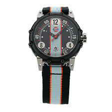 BRM GULF Watch W6BT-644 Limited #45/100 MSRP $5050.00 New Condition Box Papers
