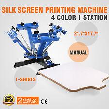 DIY T-shirt | 4 Color Screen Printing Machine | 4C1P | Carousel | 4C PRINTER