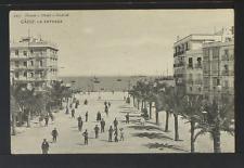 2232.-CADIZ -1215 La Entrada (1909) (enviada a Paris)