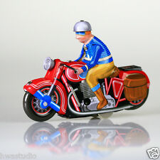 Ms368 tin véhicules moto windup réplique Vintage Antique tin toy