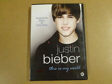 MUSIC DVD / JUSTIN BIEBER - THIS IS MY WORLD