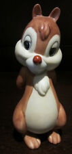 RARE Disney Chip N and Dale Chipmunk Ceramic Porcelain Figure Statue Display