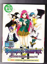 *NEW* ROSARIO + VAMPIRE COMPLETE *26 EPS*ENG SUBS*ANIME DVD*US SELLER*FREE SHIP*