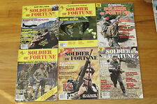 SOF Soldier of Fortune Gun Magazines 1983-2002 Lot of 4 Monthly Military English