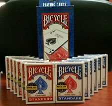 BICYCLE PLAYING CARDS 12 Decks * Standard Face * Red & Blue * New & Sealed