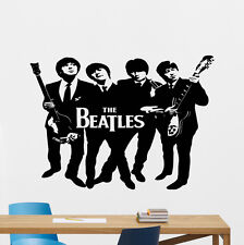 The Beatles Wall Decal Music Band Vinyl Sticker Lennon Art Decor Mural 18sss