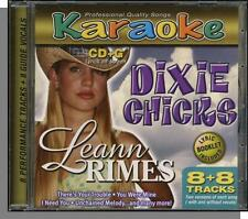 Karaoke CD+G - Dixie Chicks & LeAnn Rimes - New 8 Song CD! Unchained Melody