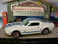 2010 Hot Wheels '67 SHELBY GT500 GT-500 ✰WHITE✰Loose ✰New Models