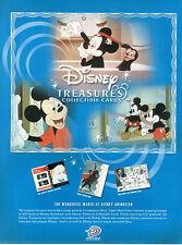 Hoja De Venta Tarjetas De Disney tesoros Coleccionable