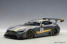 Mercedes-AMG GT3 Presentation Car, Grey, Composite 1:18TH Scale AutoArt 81530