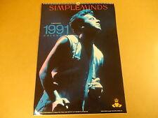 CALENDAR 1991 / SIMPLE MINDS