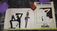 TWO original vintage Tomi Ungerer posters-THE PARTY 1966 -  Ships free