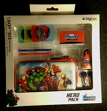 Nintendo DS Lite & DSi Custodia console MARVEL Supper HERO PACK Hulk, Uomo Ragno, ecc.