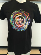 ADIDAS TRIP CITY BLACK GRAPHIC TEE T SHIRT MENS SIZE SMALL NWT