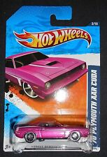 HOT WHEELS '70 PLYMOUTH AAR CUDA STREET BEASTS '11 83/244 SHIPS FREE!
