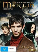 The Adventures Of Merlin: Season 2 (DVD 2010, 4-Disc Set) TV Series VG Condition