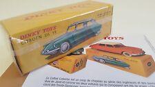 Dinky Toys Atlas -  Citroën DS 19 orange (Ref 522 - Jantes concaves) Neuve