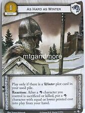A Game of Thrones 2.0 LCG - 1x As Hard As Winter  #022 - Wolves of the North