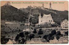 """Esperanto – AK 5-a Universala Kongreso Barcelona 1909 – Domo """"Arnús"""""""