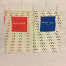 Mastering the Art of French Cooking Vol 1 and 2 Julia Child Book Club Edition