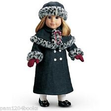 AMERICAN GIRL NELLIE HOLIDAY COAT & HAT NIB RETIRED DOLL NOT INCLUDED SAMANTHA