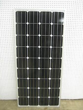 4- 160  Watt 12 Volt Battery Charger Solar Panel Off Grid RV Boat 620 watt total
