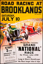 Broome ROAD RACING POSTER Stampa A3