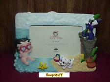 BABY BETTY BOOP PICTURE FRAME ON THE BEACH DESIGN W6891 (RETIRED ITEM)