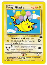 POKEMON • Flying Pikachu • PROMO STELLA NERA Black Star Promo 25