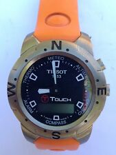 TISSOT T Touch Titanium Smart Watch, used, parts.