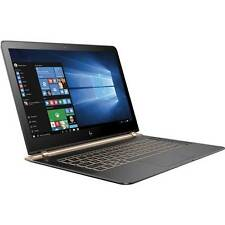 "HP Spectre W2K26UA 13-v011dx Laptop i7-6500U 2.5GHz 256GB Win 10 13.3"" IPS 1080P"