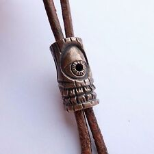 """skull bead """"totem one-eyed"""", made of bronze.  for knives. paracord."""