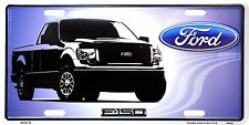 "Ford F-150 12"" x 6"" Metal License Plate Auto Tag"